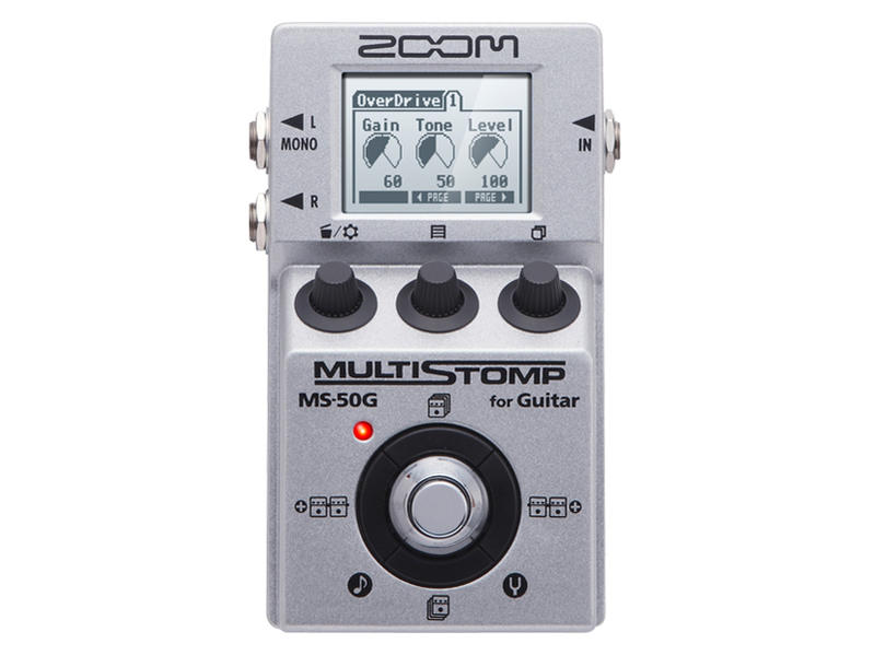 ZOOM MULTI STOMP MS-50G ズーム マルチストンプ【smtb-ms】【zn】