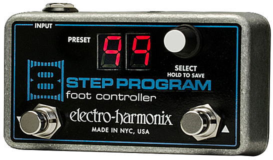 electro-harmonix 8 Step Program Foot Controller リモートプリセットコントローラー【smtb-ms】【zn】