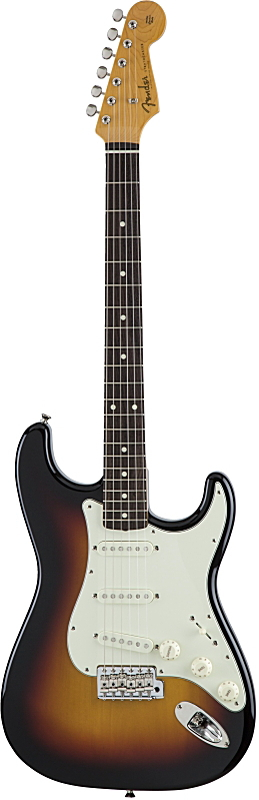 FENDER MADE IN JAPAN TRADITIONAL 60S STRATOCASTER, 3-Color Sunburst フェンダー・エレキギター・ストラトキャスター【smtb-ms】【zn】