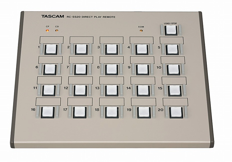 TASCAM タスカム RC-SS20 (SS-CDR200、SS-R200、HD-R1、HS-2、HS-8用コントローラー)【smtb-ms】【zn】