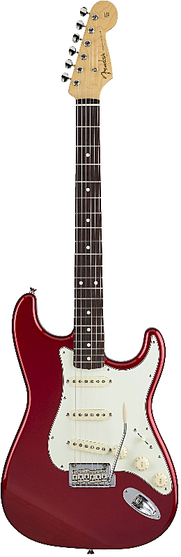FENDER MADE IN JAPAN HYBRID 60S STRATOCASTER フェンダー エレキギター・ストラトキャスター Candy Apple Red【smtb-ms】【zn】