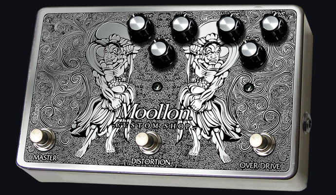 Moollon ムーロン CUSTOM SHOP エフェクター Distortion and Overdrive in a box Type1【送料無料】【smtb-ms】【zn】