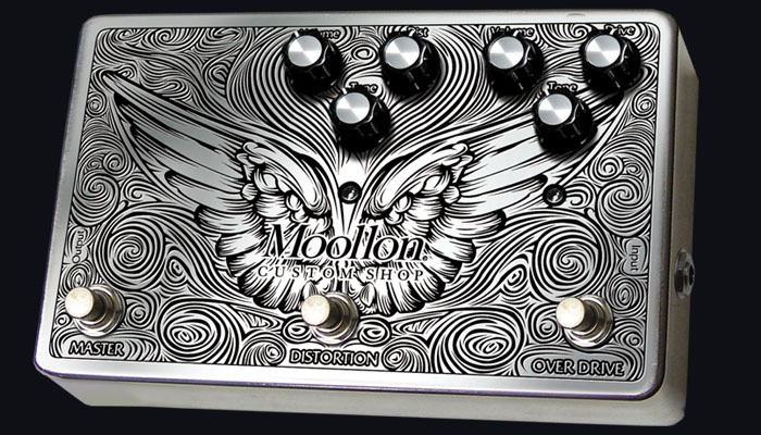 Moollon ムーロン CUSTOM SHOP エフェクター Distortion and Overdrive in a box Type2【送料無料】【smtb-ms】【zn】
