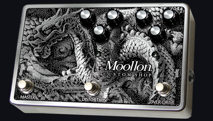 Moollon ムーロン CUSTOM SHOP エフェクター Distortion and Overdrive in a box Type3【送料無料】【smtb-ms】【zn】