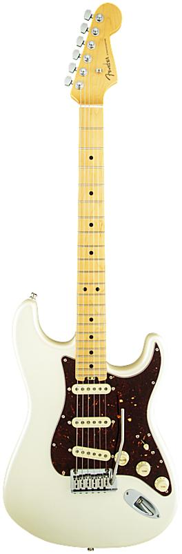 FENDER エレキギター American Elite Stratocaster Maple Fingerboard, Olympic Pearl【smtb-ms】【zn】