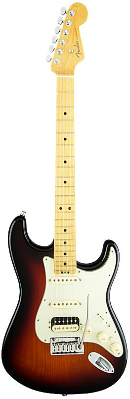 FENDER エレキギター American Elite Stratocaster HSS Shawbucker Maple Fingerboard, 3-Color Sunburst【smtb-ms】【zn】