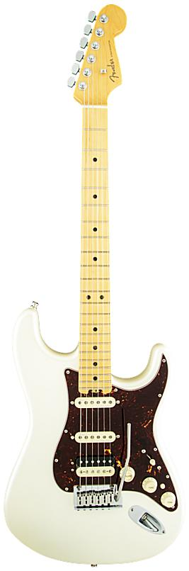 FENDER エレキギター American Elite Stratocaster HSS Shawbucker Maple Fingerboard, Olympic Pearl【smtb-ms】【zn】
