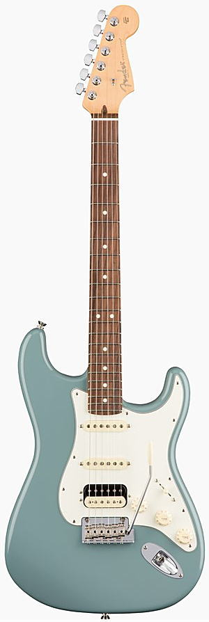 FENDER エレキギター AMERICAN PROFESSIONAL STRATOCASTER HSS SHAWBUCKER Rosewood Fingerboard, Sonic Gray【smtb-ms】【zn】