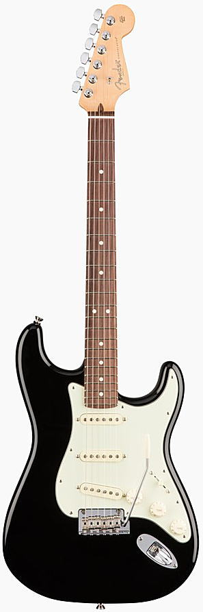 FENDER エレキギター AMERICAN PROFESSIONAL STRATOCASTER Rosewood Fingerboard, Black【smtb-ms】【zn】