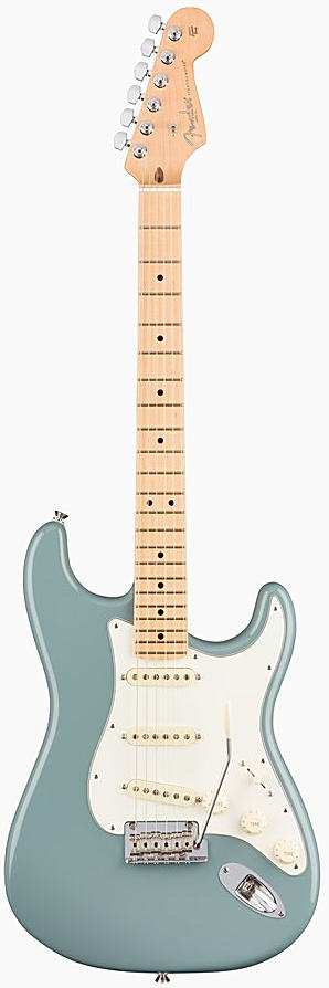 FENDER エレキギター AMERICAN PROFESSIONAL STRATOCASTER Maple Fingerboard, Sonic Gray【smtb-ms】【zn】