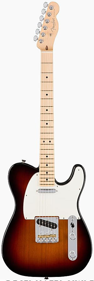 FENDER エレキギター AMERICAN PROFESSIONAL TELECASTER Maple Fingerboard, 3-Color Sunburst【smtb-ms】【zn】