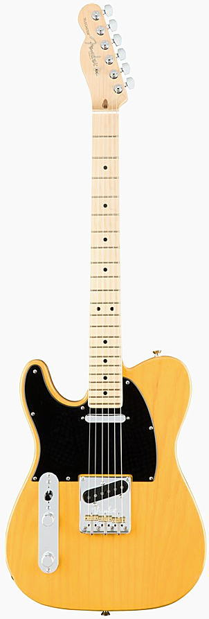 FENDER エレキギター AMERICAN PROFESSIONAL TELECASTER LEFT-HAND Maple Fingerboard, Butterscotch Blonde【smtb-ms】【zn】