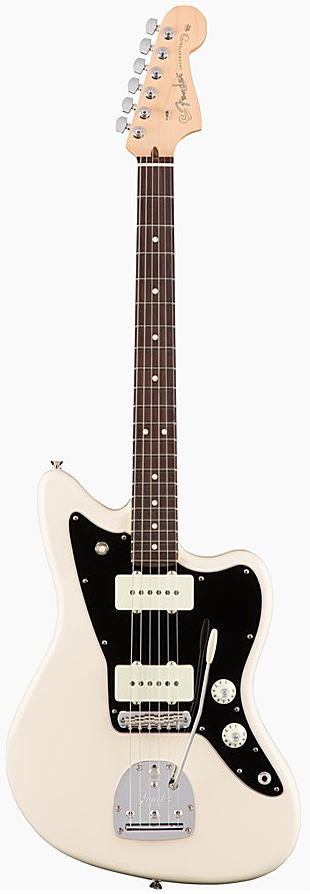 FENDER エレキギター AMERICAN PROFESSIONAL JAZZMASTER Rosewood Fingerboard, Olympic White【smtb-ms】【zn】