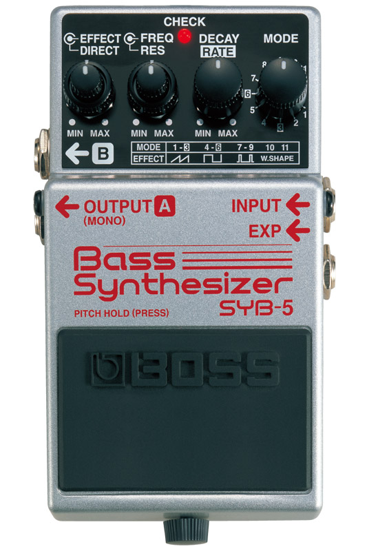BOSS ボス コンパクト・エフェクター Bass Synthesizer SYB-5【zn】