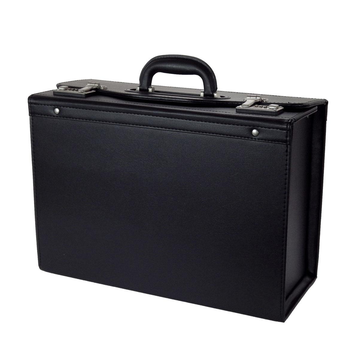 アタッシュケース GUSTO ガスト パイロット ケース No:20028 使い易い 大容量 書類を楽々出し入れ 書類の持ち運び 観音開き 通勤 通学 営業 鞄倶楽部