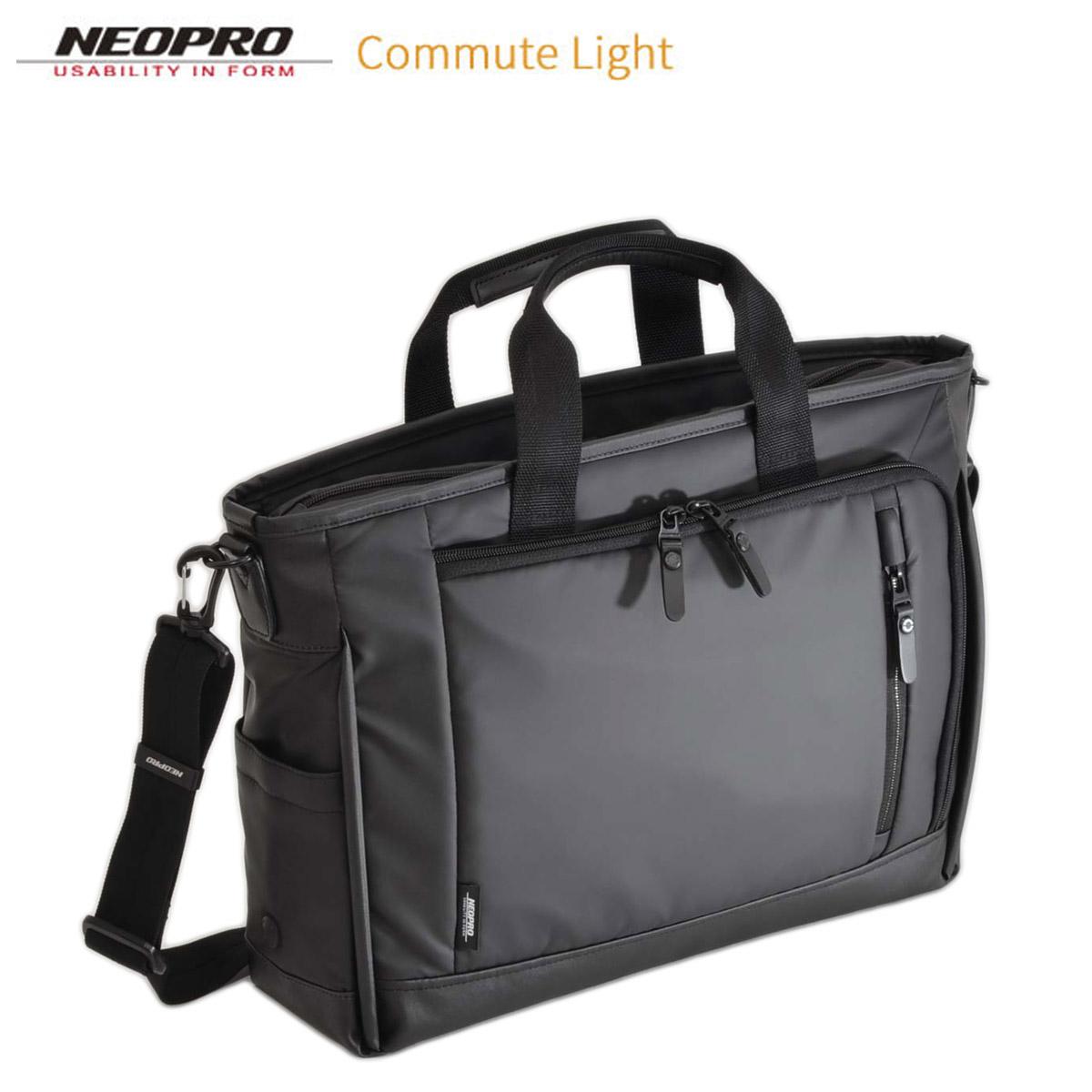 ビジネスバッグ NEOPRO ネオプロ No:2-760 2Way トート ブリーフ 耐久 防滴 防汚 A4 ファイル ノートPC 対応 通勤 通学 就活 に最適 軽量 キャリーオン エンドー鞄