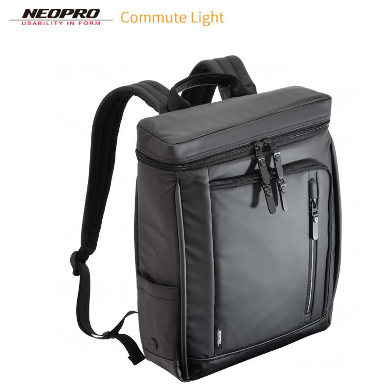 ビジネスバッグ NEOPRO ネオプロ No:2-763 縦型 ボックスリュック 耐久 防滴 防汚 メンズ レディース A4ファイル ノートPC対応 リュック 軽量 通勤 通学 就活 エンドー鞄