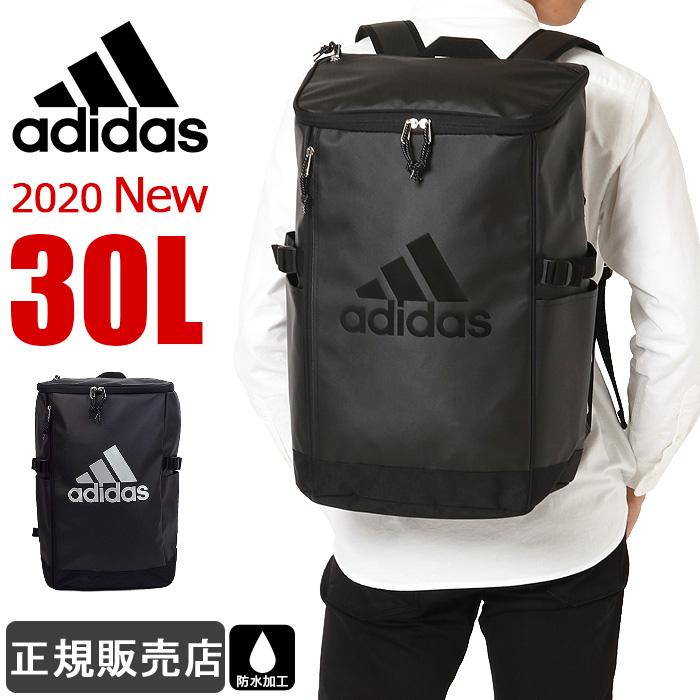 アディダス リュック 通学 adidas リュックサック 大容量 30L スクエアリュック ボックス型 レディース メンズ 防水 男子 女子 高校生 1-62782