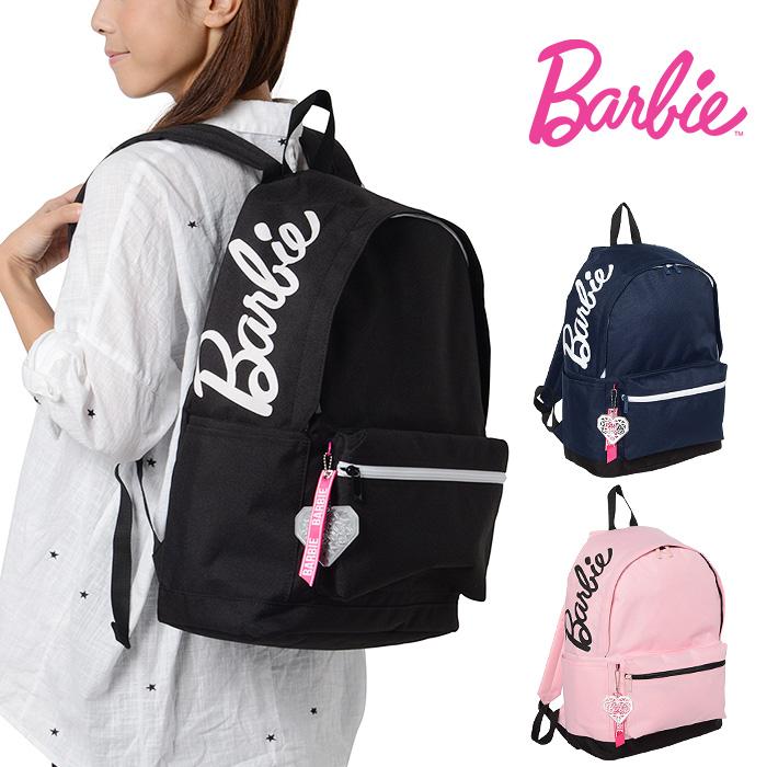 バービー リュック Barbie マリー 女の子 レディース A4 通学 スクールバッグ かわいい 修学旅行 ブラック/ネイビー/ピンク1-59055