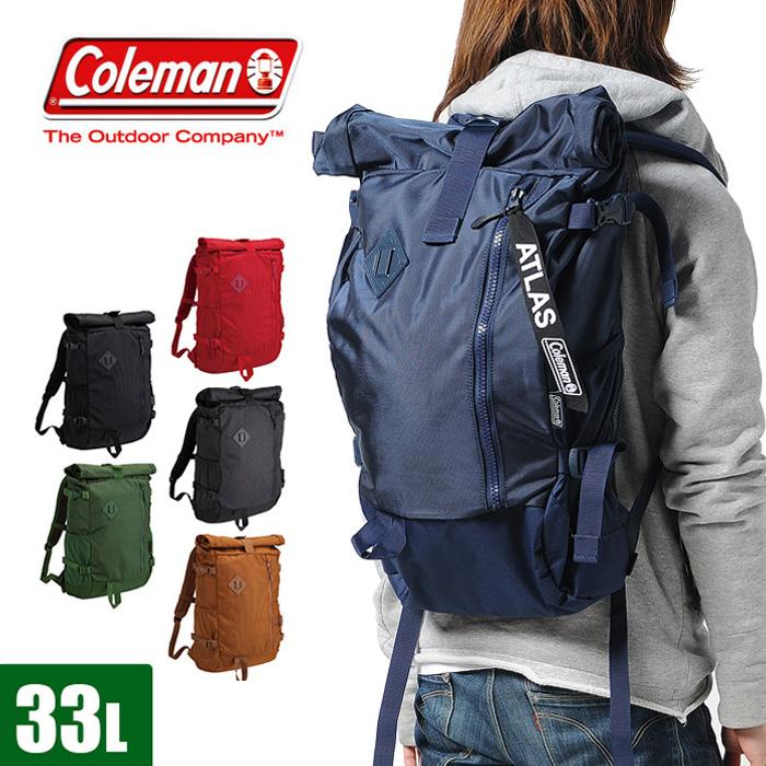 4e54bfc25f6b 楽天市場】コールマン coleman リュック B4 メンズ レディース 33L ...