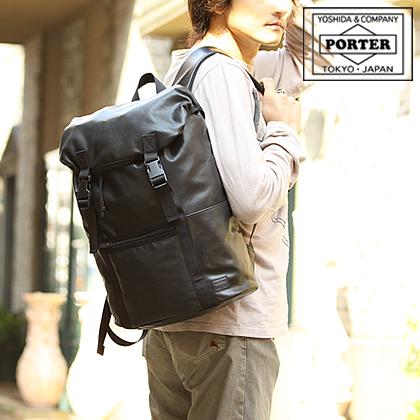 ポーター 吉田カバン porter リュックサック 子牛革 アルーフ ALOOF ポーター l s m バッグ 023-03760 WS