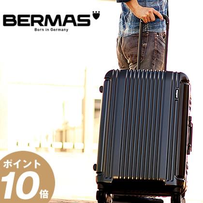 バーマス プレステージ3 BERMAS スーツケース 66L 軽量 キャリーケース キャリーバッグ フレームタイプ Mサイズ 60281 BS