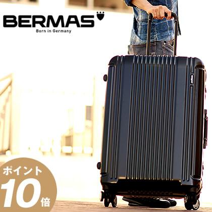 11/19(月)12:00までNITEIZEカラビナ&ノベルティのWプレゼント! バーマス プレステージ3 BERMAS スーツケース 87L 軽量 キャリーケース キャリーバッグ フレームタイプ Lサイズ 60282 BS