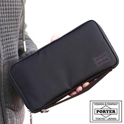 ポーター 吉田カバン porter 長財布 パスポート対応 LL ディル DILL ポーター ポーチ 653-09110 WS
