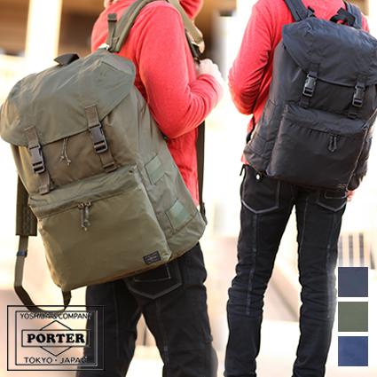 ポーター 吉田カバン porter フォース リュックサック FORCE ポーター デイバッグ リュック 855-07416 WS