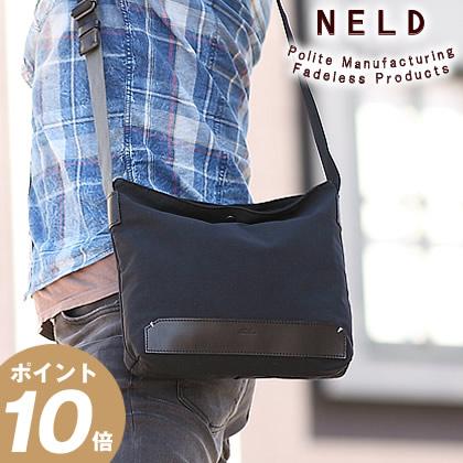 ネルド NELD ショルダーバッグ サコッシュ パック PACK 日本製 撥水ナイロン ショルダー 小 レザー メンズ レディース GN704 WS
