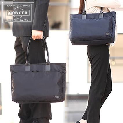 吉田カバン ポーター porter トートバッグ メンズ レディース トート A4 ビジネス タイム TIME 2018新作 655-17873 WS