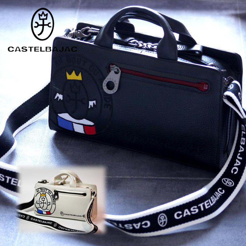 カステルバジャック バッグ ボディバッグ リンク ハンドバッグ セカンドバッグ 2ウェイバッグ 030212 CASTELBAJAC メンズ ビジネス 通勤
