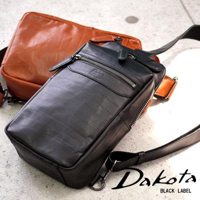 Dakota ダコタ ジャスティス バッグ 1621002メンズ ボディバッグ ショルダーバッグ ブラック 日本製 ボディ ショルダー
