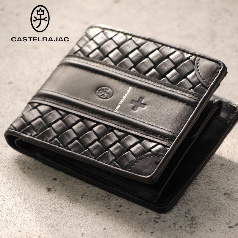 カステルバジャック 財布 折財布 エポス 065622 CASTELBAJAC メンズ