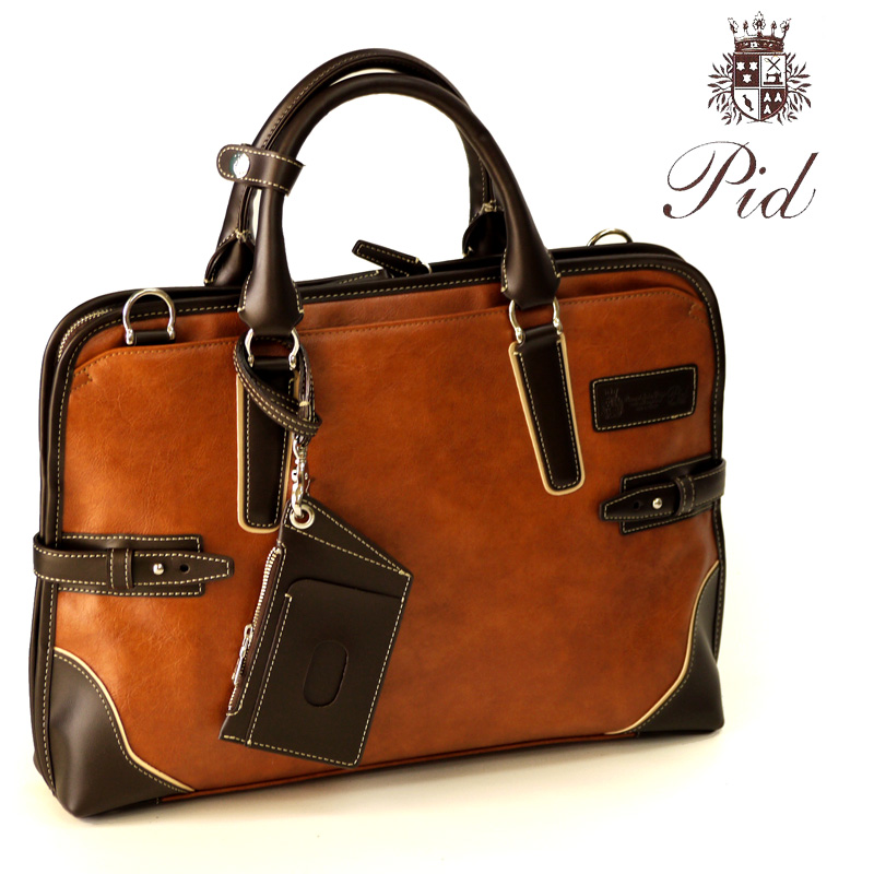 ピーアイディ P.I.D pid-PIC101 ビジネス ビジネスバッグ フェイクレザー 通勤 メンズトート 自立 A4 メンズ レディース pid