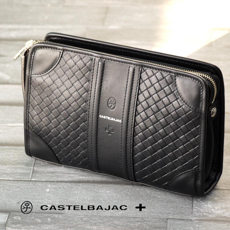 カステルバジャック バッグ セカンドバッグ エポス 065222 CASTELBAJAC メンズ