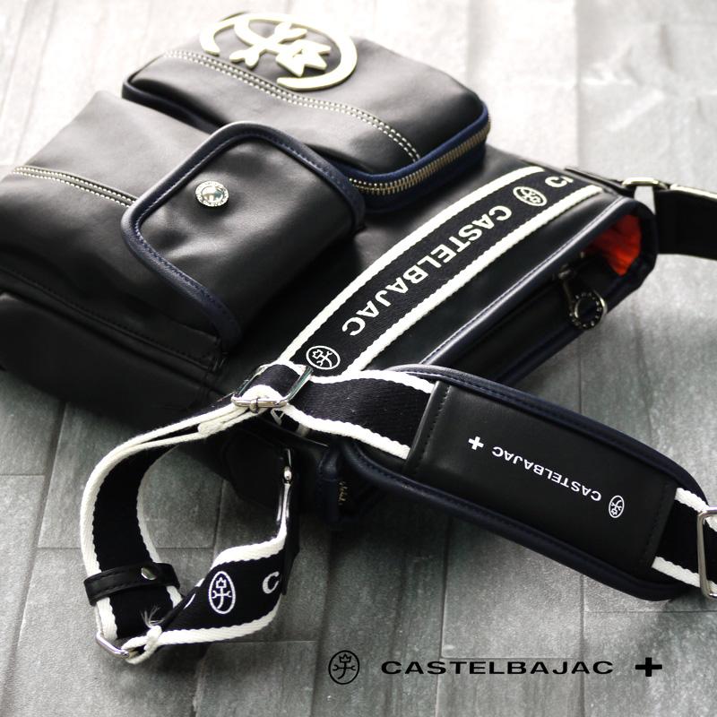 カステルバジャック バッグ ドミネ 024112 CASTELBAJAC ショルダーバッグ メンズ