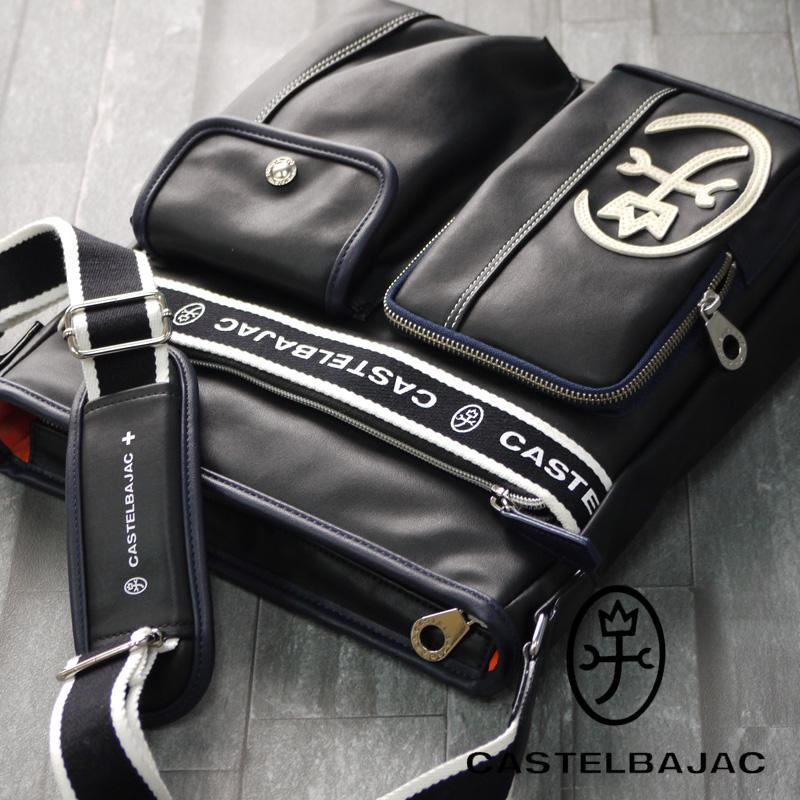 カステルバジャック バッグ ドミネ 024113 CASTELBAJAC ショルダーバッグ メンズ