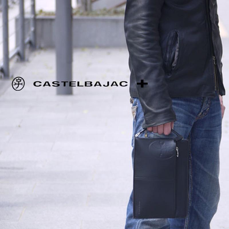 カステルバジャック バッグ トリエ 164201 CASTELBAJAC セカンドバッグ メンズ