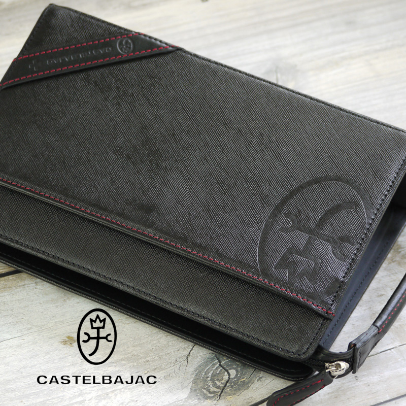 カステルバジャック バッグ ドロワット 071204 CASTELBAJAC セカンドバッグ メンズ