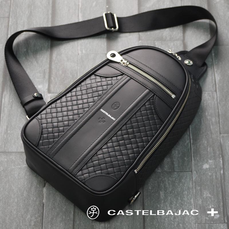 カステルバジャック バッグ ボディバッグ エポス ショルダーバッグ 065921 CASTELBAJAC メンズ