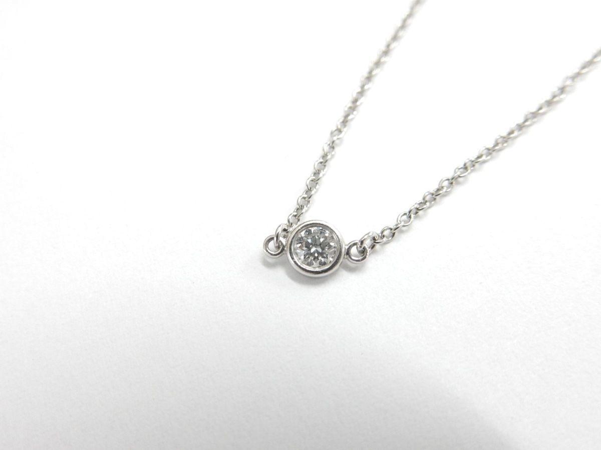 ティファニー/Tiffany & Co. バイザヤード ブレスレット 1P ダイヤ PT950 プラチナ【中古】