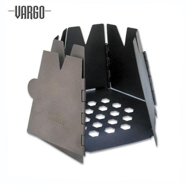 バーゴ T415-ヘキサゴンウッド ストーブ(チタン)【VARGO】キャンプ用品 ストーブ コンロ