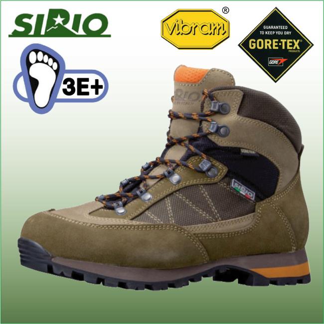 シリオ 登山靴 PF430 ライトトレック 【SIRIO】 トレッキング シューズ ブーツ アウトドアシューズ ハイキング 登山 幅広 防水 ゴアテックス GTX