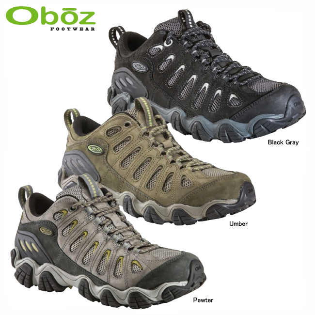 オボズ 20601-ソウトゥース ロウ【OBOZ】トレッキングシューズ トレッキングブーツ アウトドアシューズ ハイキングシューズ 登山靴