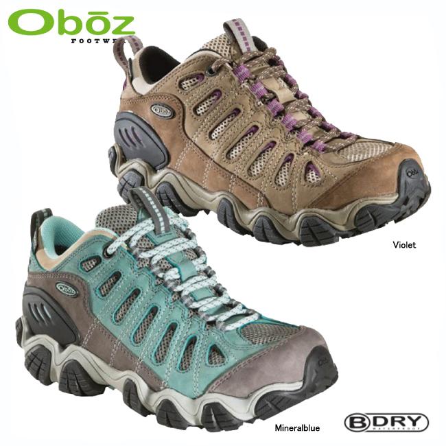オボズ 21402-WSソウトゥース ロウ ビードライ(女性用)【OBOZ】トレッキングシューズ トレッキングブーツ アウトドアシューズ ハイキングシューズ 登山靴