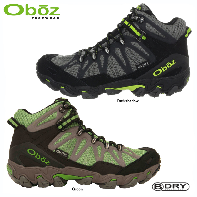 オボズ 21601-トラバース ミッド ビードライ【OBOZ】トレッキングシューズ トレッキングブーツ アウトドアシューズ ハイキングシューズ 登山靴