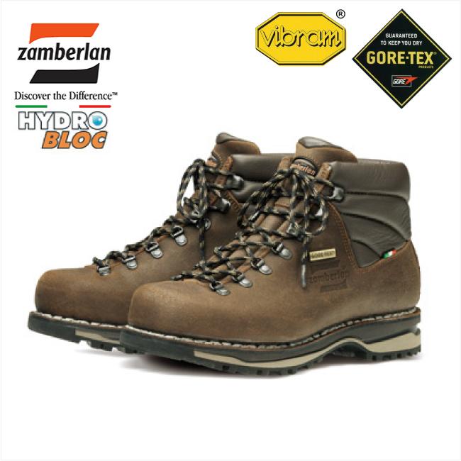 登山靴 トレッキングブーツ ハイキング 【ZAMBERLAN】 ザンバラン ZA-0266GT-BR フジヤマ NW-GT ブラウン