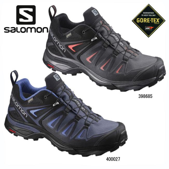 サロモン X-ULTRA3 GORE-TEX(WOMEN)【SALOMON】トレイルランニングシューズ トレランシューズ アウトドアシューズ ハイキングシューズ アプローチシューズ