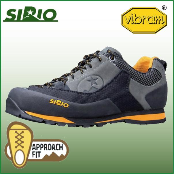 シリオ 登山靴 21A シティトレック【SIRIO】トレッキング シューズ トレッキングブーツ アウトドアシューズ ハイキング 登山 防水 幅広 ドライレックス